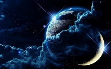 Planet in outer space